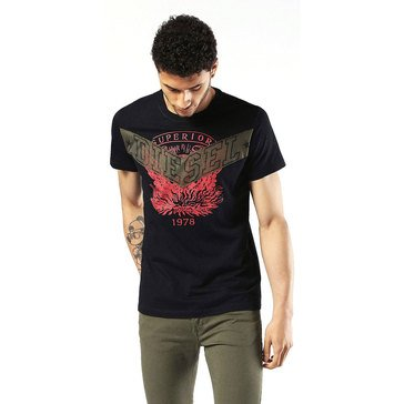 Diesel Men's T Diego Go Short Sleeve Tee Shirt