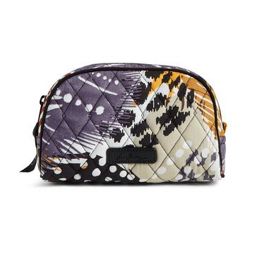 Vera Bradley Small Zip Cosmetic Painted Feathers