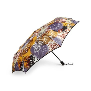 Vera Bradley Umbrella Painted Feathers