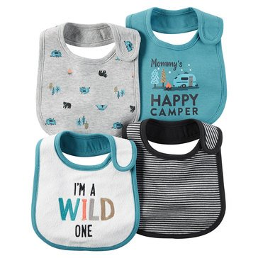 Carter's Baby Boys' 4-Pack Camping Bibs