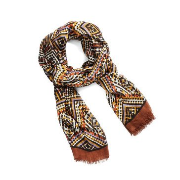 Vera Bradley New Soft Fringe Scarf Tribal