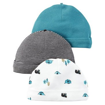 Carter's Baby Boys' 3-Pack Camping Hats