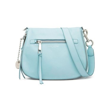 Marc Jacobs Recruit Small Saddle Bag Azur