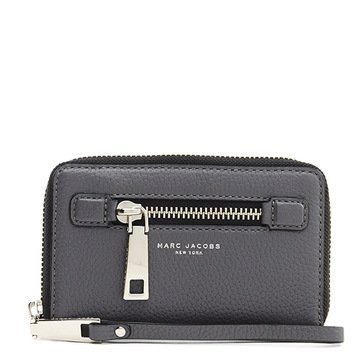Marc Jacobs Gotham Zip Phone Wristlet Shadow