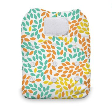 Thirsties Snap All-In-One Cloth Diaper, Fallen Leaves
