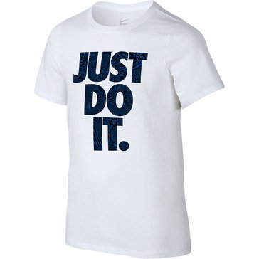 Nike Big Boys' Just Do It Techtronic Tee
