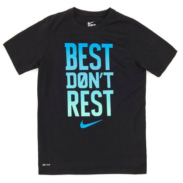 Nike Big Boys' Best Done Rest Tee