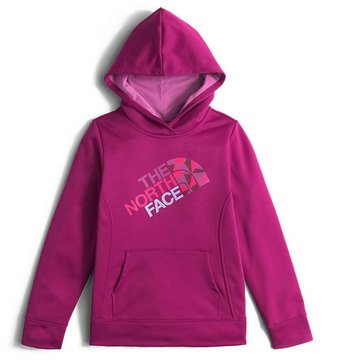 The North Face Big Girls' Surgent Pullover Hoodie, Roxbury Pink