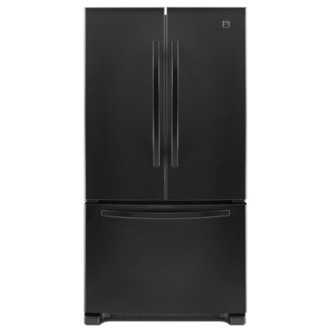 Kenmore 19.5-Cu.Ft. French Door Refrigerator, Black (46-73009)
