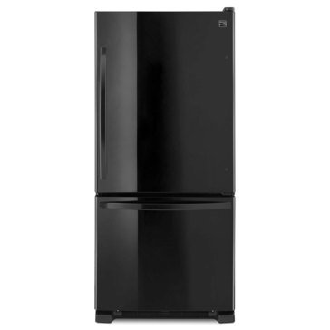 Kenmore 19-Cu.Ft. Bottom-Freezer Refrigerator, Black (46-79319)
