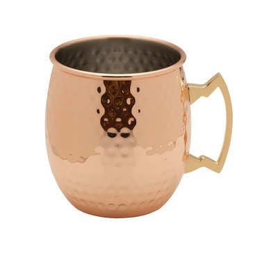 Towle Copper Plated Hammered Mule Mug, 18oz