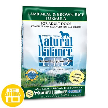 Natural Balance Limited Ingredient Diets Lamb Meal & Brown Rice Dry Dog Food,  28 lbs.