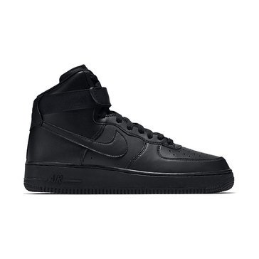 Nike Air Force 1 Hi '07 Men's Basketball Shoe Black/ Black/ Black