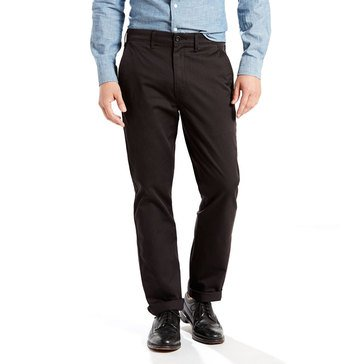 Levi's Men's Stretch Twill Straight Chino Pant Black