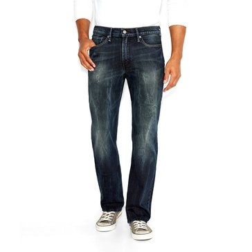 Levi's Men's 514 Carbon Canyon Distress Medium Stone