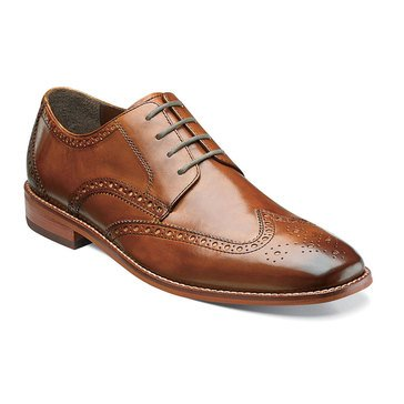 Florsheim Montinaro Men's Wing Tip Saddle Shoe