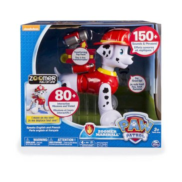 PAW Patrol Zoomer Marshall Interactive Pup