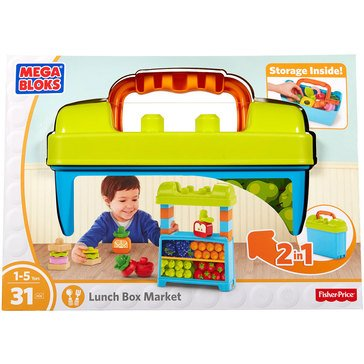 Mega Bloks Lunch Box Market