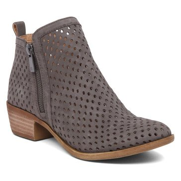 Lucky Brand Basel3 Women's Perforated Bootie Dark Stone