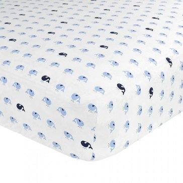 Just Born Jonah Fitted Crib Sheet