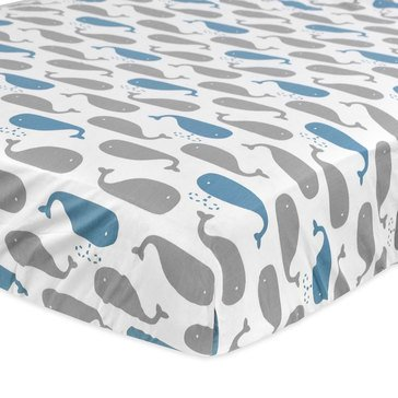Just Born High Seas Fitted Crib Sheet