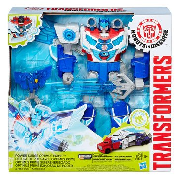 TRANSFORMERS RID POWER SURGE OPTIMUS PRIME