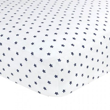Just Born Twinkle Twinkle Fitted Crib Sheet