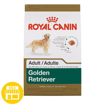 Royal Canin Golden Retriever Dry Dog Food, 17 lbs.
