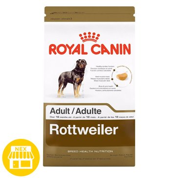 Royal Canin Rottweiler Adult Dry Dog Food, 30 lbs.