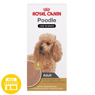 Royal Canin Poodle 4-Pack Wet Dog Food, 3 oz.