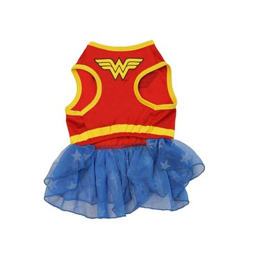 Wonder Woman Dog Costume, Extra small