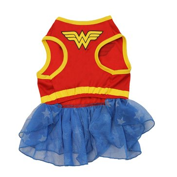 Wonder Woman Dog Costume, Small