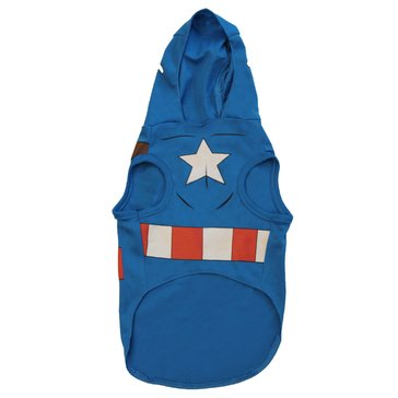 Captain America Dog Costume, Extra Small