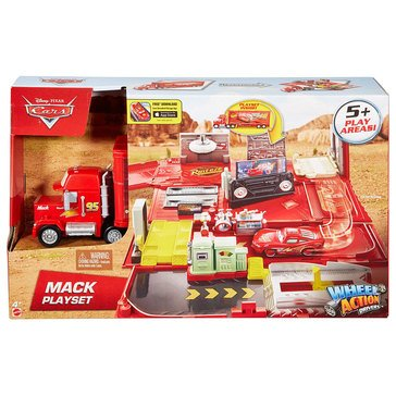 Disney Cars Action Drivers Mack Playset