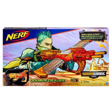 NERF Doomlands 2169 Double Dealer Blaster