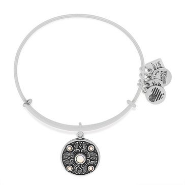 Alex and Ani Charity By Design Wings Of Change Expandable Bangle, Silver Finish