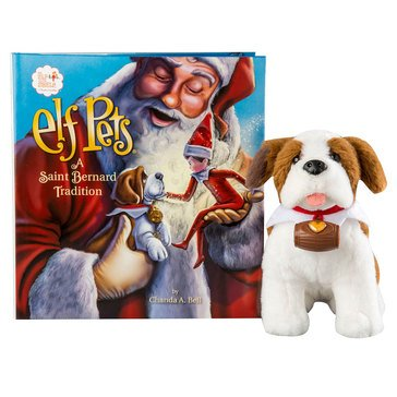 Elf Pets: A Saint Bernard Tradition Book & Pet Set