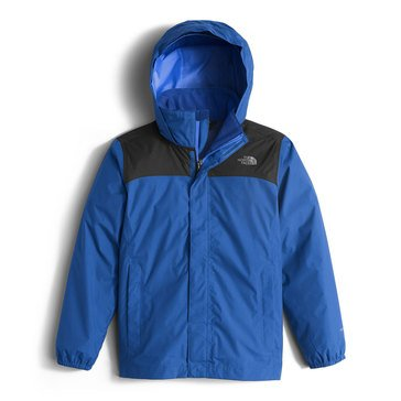 The North Face Big Boys' Resolve Reflective Blue Jacket