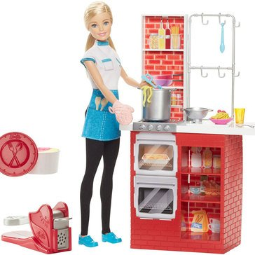 Barbie Careers Barbie Spaghetti Chef Doll & Playset