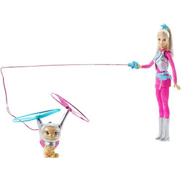 Barbie Galaxy Barbie Doll and Flying Cat