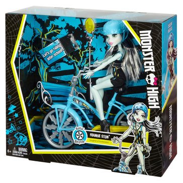 Monster High Boltin Bicycle Frankie