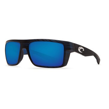 Costa Del Mar Unisex Motu Polarized Sunglasses, Black 57mm