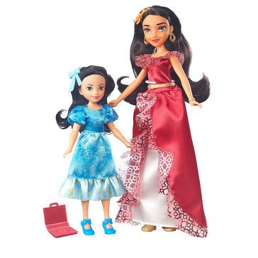 Disney Princess Elena of Avalor and Princess Isabel