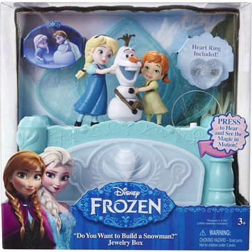 Disney Frozen Jewelry Box, Do You Want to Build A Snowman?