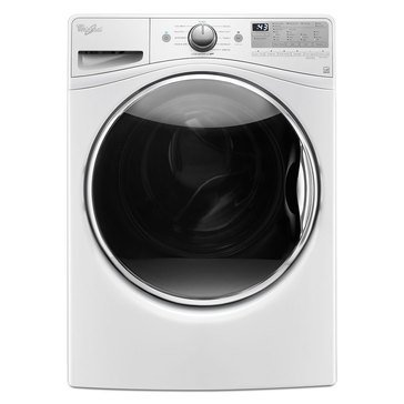 Whirlpool 4.5-Cu.Ft. Front Load Washer w/ 12 Hour FanFresh, White (WFW90HEFW)