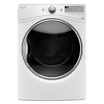Whirlpool 7.4-Cu.Ft. Electric Dryer w/ Advanced Moisture Sensing, White (WED90HEFW)