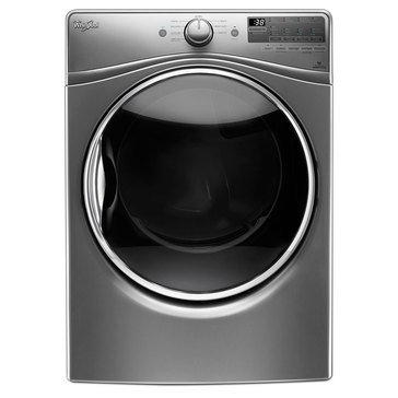 Whirlpool 7.4-Cu.Ft. Gas Dryer w/ Advanced Moisture Sensing, Chrome Shadow (WGD90HEFC)