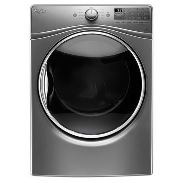 Whirlpool 7.4-Cu.Ft. Gas Dryer w/ Advanced Moisture Sensing, Chrome Shadow (WGD92HEFC)