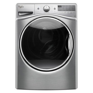 Whirlpool 4.5-Cu.Ft. Front Load Washer w/ Precision Dispense, Diamond Steel (WFW92HEFU)