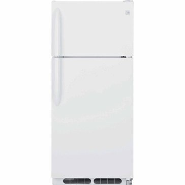 Kenmore 16.3-Cu.Ft. Top-Freezer Refrigerator, White (46-60402)